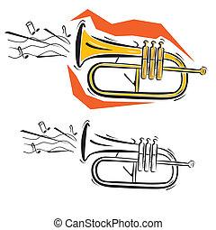 instrumenten, muziek