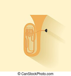 instrumento, abstratos, música