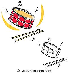 instrumentos, música