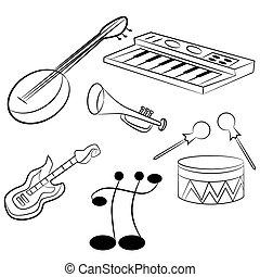 instrumentos, musical