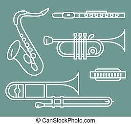 instrumentos vento
