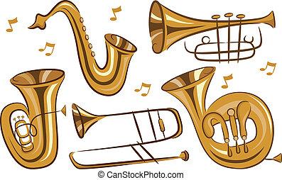 instrumentos, viento
