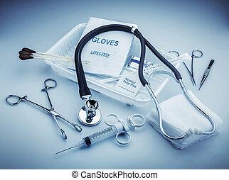 instruments, monde médical
