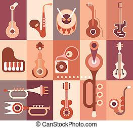 instruments, musique