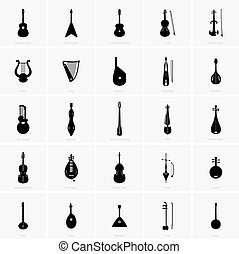instruments stringed, musical