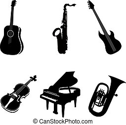 Various isolated instruments