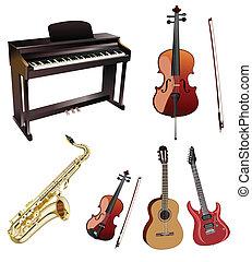instuments, muzyka
