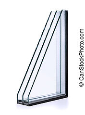 Insulated glazing - Triple windows insulated glazing...
