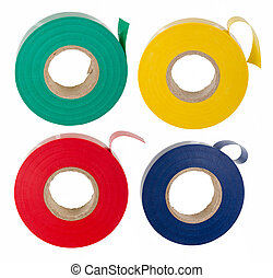 Insulating tape set