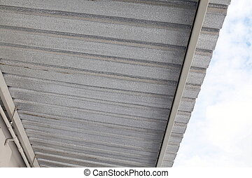 insulation fiber resistance sheet under roof, install aluminum foil sheet, Loft insulation, Silver metallic, foil sheet, Heat insulation material texture reflection sun radiation protect heat in house
