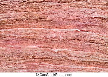 Insulation strips - Strips of insulation await being...