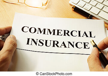 insurance., コマーシャル