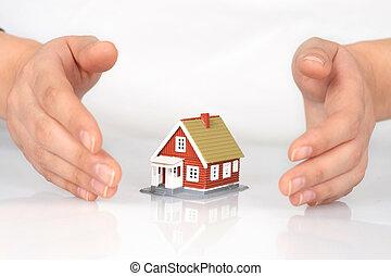 insurance., 家