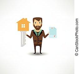 Insurance agent Stock Illustration Images. 7,852 Insurance ...