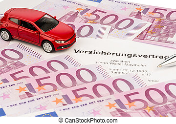 insurance contract for a new car