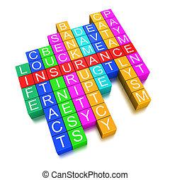 Insurance crossword