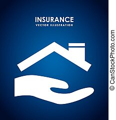 insurance design - insurance graphic design , vector...