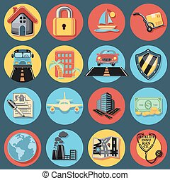 Insurance Icon Set.eps
