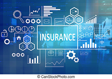 Insurance in Business Concept