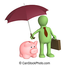 Insurance of bank contributions