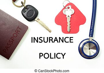 Insurance policy for many types of insurance