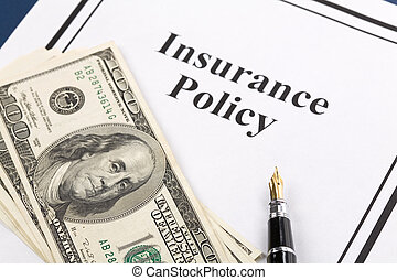 Insurance Policy, Life; Health, car, travel, for background