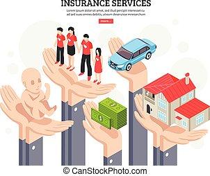 Insurance Services Design Concept