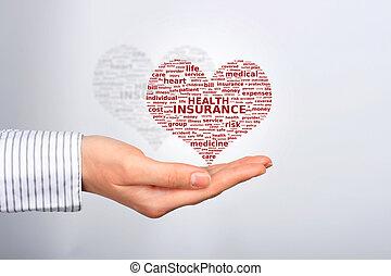 insurance., zdraví