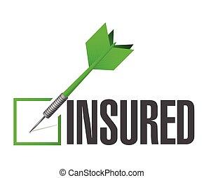 insured dart check mark