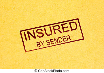 Insured Stamp