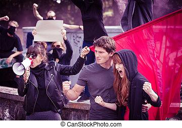 insurgents, levantamiento, Arriba