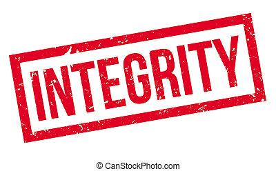 intégrité, timbre, caoutchouc