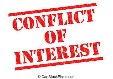 intérêt, conflit