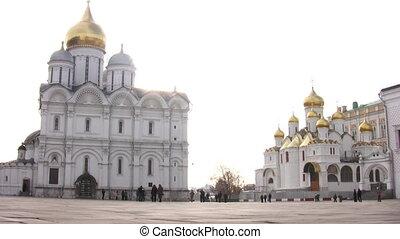 intérieur, église, moscou, kremlin