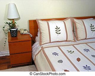 intérieur, 2, chambre à coucher
