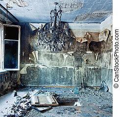 intérieur, abandonnés