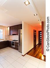 intérieur, appartement, -, spacieux