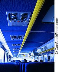 intérieur, autobus