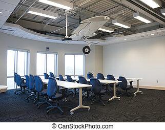 intérieur, bâtiment, bureau