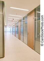intérieur bâtiment, commun, bureau