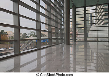 intérieur bâtiment, vestibule, bureau