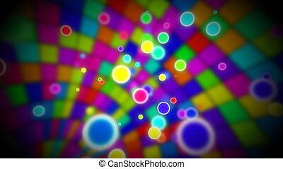 intérieur, balle, boucle, disco