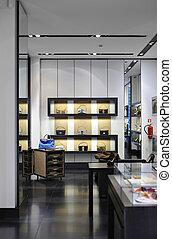intérieur, boutique, moderne, magasin