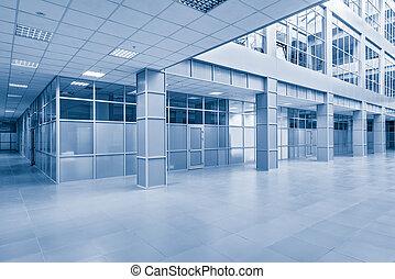 intérieur, bureau, bâtiment.