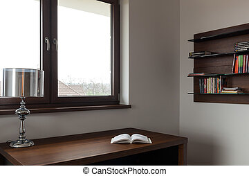 intérieur, bureau maison