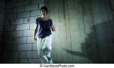 intérieur, danse