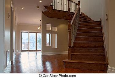 intérieur, escalier