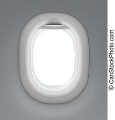 intérieur, fenêtre, jet