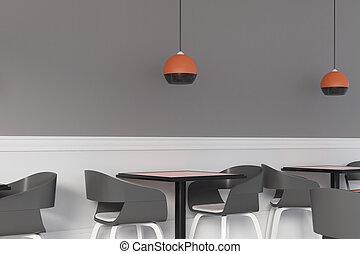 intérieur, filtré, café