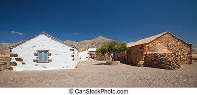 intérieur, fuerteventura, plein air, musée, ecumuseo, la,...